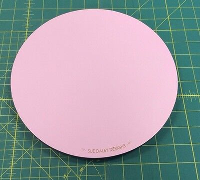 Sue Daley Designs Pink Rotating Cutting Mat 10""
