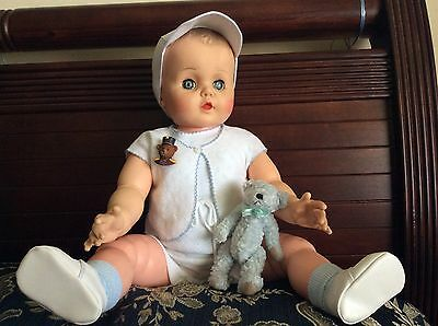 Beautiful Big Baby Reliable Doll From The 1960s.