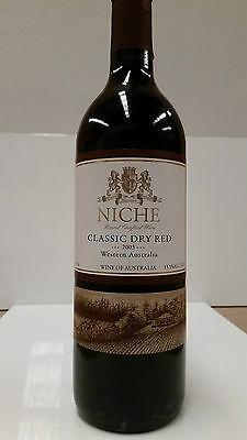 Niche Classic Dry Red 2003 SIX BOTTLES