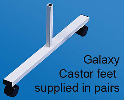 Castor feet for floor standing Screen Divider Panel - Free Delivery