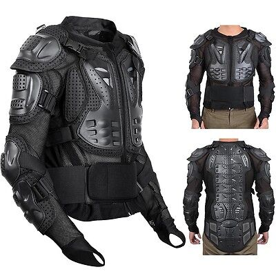 Motorcycle Full Body Armor Motocross Racing Jacket Spine Chest Protection XXL