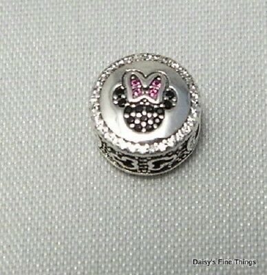 Authentic Pandora Disney Collection Mickey And Minnie Sparkling Icon #791958Nck