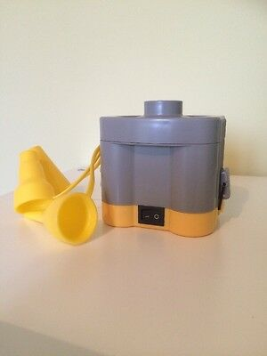 Battery operated electric air pump