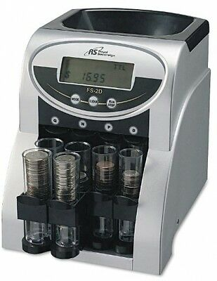 Digital Coin Sorter Change Machine Money Counter Bank Roll Wrapper Electronic