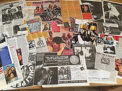 Red Hot Chilli Peppers - (Anthony Kiedis ) - Cuttings/clippings