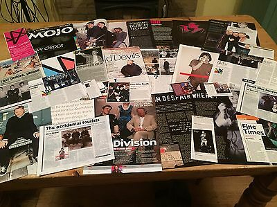 New Order / Joy Division Cuttings/clippings