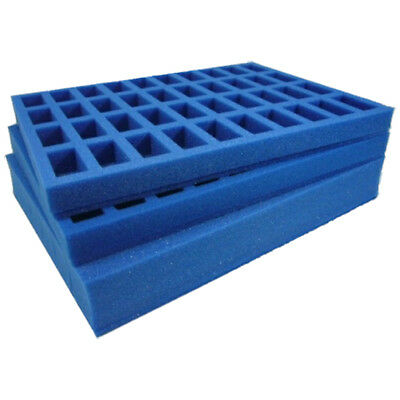 Foam trays for GW army case, tanks/bikes/cavalry/monsters plus troops (E-181)