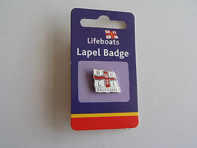 RNLI Lifeboats SALCOMBE Lapel Badge