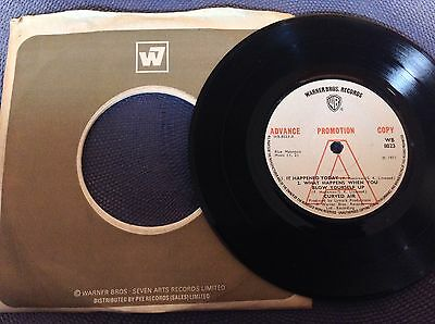 CURVED AIR -IT HAPPENED TODAY +2 rare UK 1971 DEMO PROMO / PROG ROCK / NEAR MINT