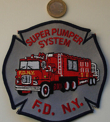 FDNY - Patch - FDNY/SUPER PUMPER SYSTEM