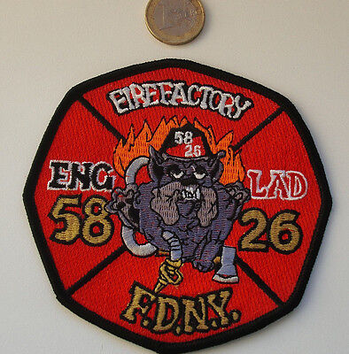 FDNY - Patch - FDNY/ENGINE 58-Ladder 26