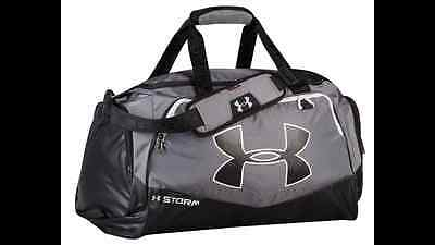 Under Armour Undeniable II Duffel Bag Graphite/Black/White M