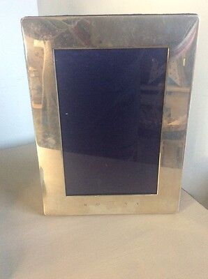 BEAUTIFUL LARGE SHEFFIELD SOLID STERLING MILLENIUM SILVER PICTURE PHOTO FRAME  l