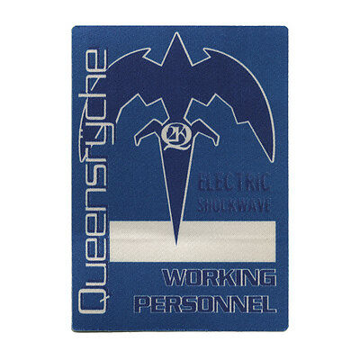 Queensryche authentic Working 1999-2000 tour Backstage Pass