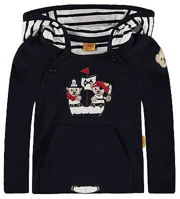 "STEIFF® Baby Jungen Sweatshirt Shirt ""Little Pirat"" 80 86 F/S 2017 NEU!"
