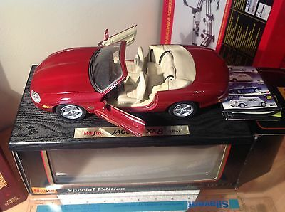 MAISTO JAGUAR XK8 SPECIAL EDITION 1:18 SCALE, Boxed, NEVER Displayed