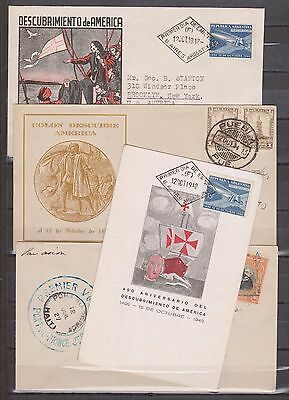 Latin America...lot 4...used Post Cards...