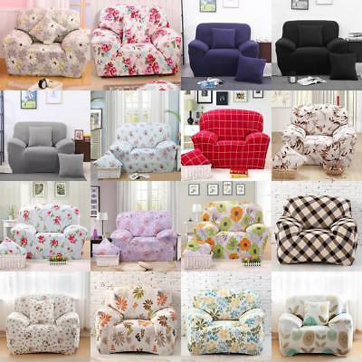Stretch Chair Cover Sofa Cover 1 Seater Protector Couch Cover Slipcover Assorted