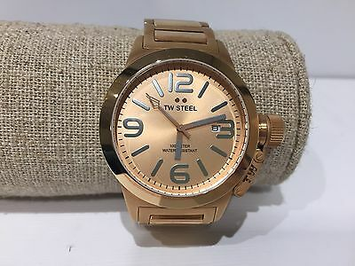 bb3a61fbf3 Reloj Watch Montre TW STEEL - Quartz - 40 mm - Golden Armis - TW303