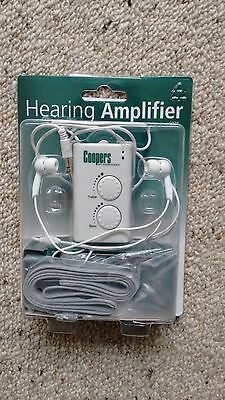 Hearing Assistance/Adjustable Sound Amplifier by Coopers