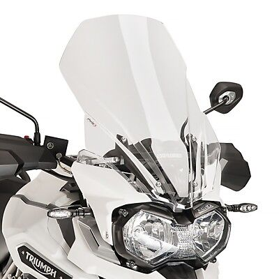 Bulle Haute Protection HP Puig Triumph Tiger Explorer XRX 2016 clair