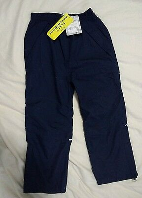 Peter storm waterproof trousers Unisex size 5-6 years