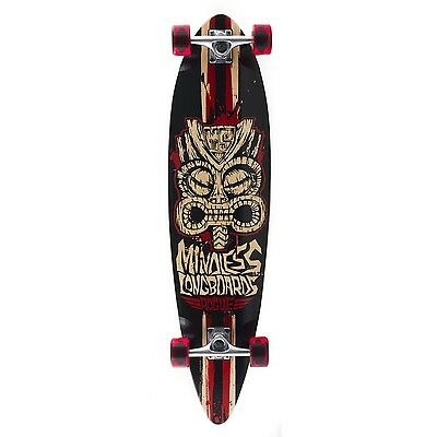 Mindless Tribal Rogue II Complete Longboard - Black/Red 38""