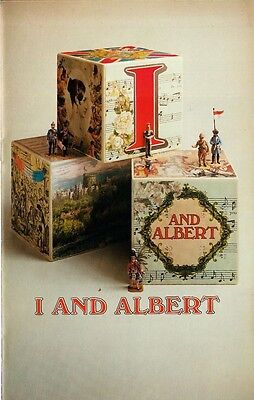 I and Albert - 1970s West End musical theatre program