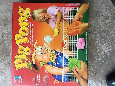 Pig Pong - Rare Vintage Board Game by MB Games