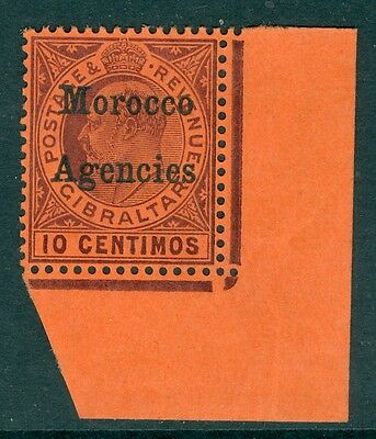 SG 25 morocco agencies 10 cent dull purple variety watermark inverted
