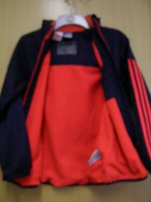 Adidas Youths Navy Lightweight Jacket age 11-12 years