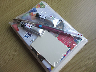 ART TUITION - A Splash of Paint - Best Bits - DVD  Oils, Brushes & Boards