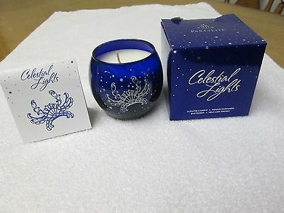 Partylite Celestial Lights `cancer` Astrological Sign Scented Candle (2011).