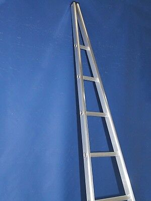1.8m Single Section Window Cleaning / Cleaners Ladders - FREE Next Day Delivery.