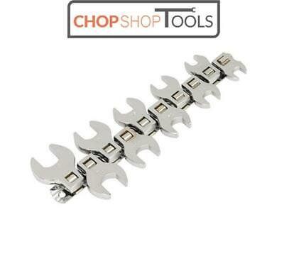 "Sealey Seigen Crow's Foot Open End Spanner Set 10pc 3/8""Sq Drive Metric  S0866"