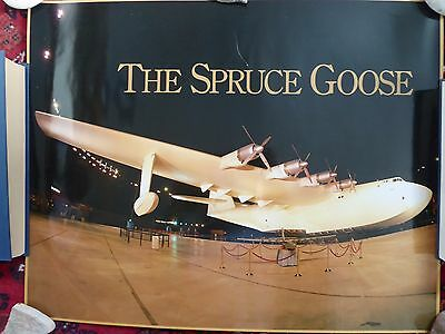 Spruce Goose (Hughes H-4) photograph poster