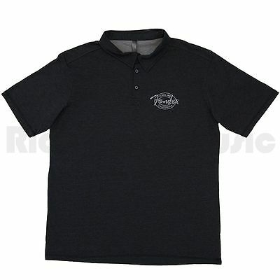 Fender Industrial Polo Black S