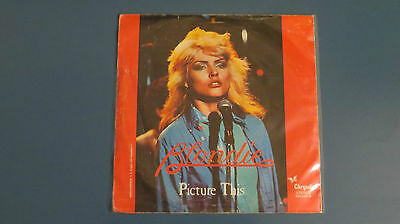 Disco 45 Giri Blondie - Picture This / Corazon De Cristal (1978)