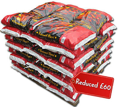 HouseFuel Burnwell Blend 40 x 25kg Bags, Quality Fuel Coal Delivered