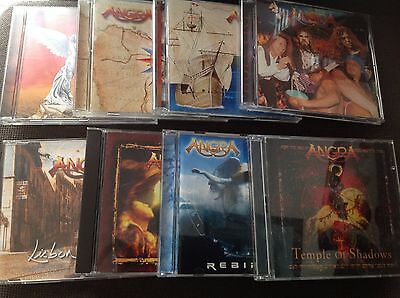 Lot cd discographie angra Rhapsody metal hard rock