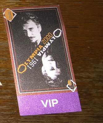 pass olympia 2000 Johnny Hallyday