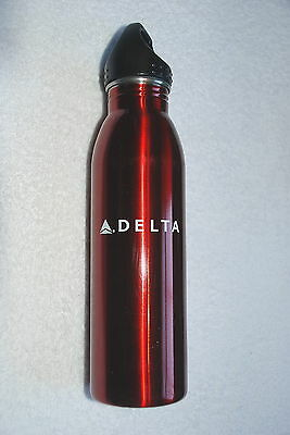 Delta Airlines Airways Team Delta Water Bottle New