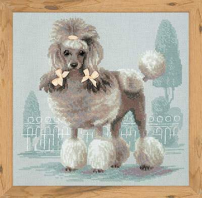 """Counted Cross Stitch Kit Riolis 1635 - """"Poodle"""""""