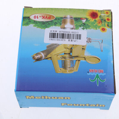Metal Impact Sprinkler Garden Lawn Yard Watering Irrigation Spray Head