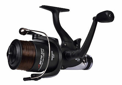 Shakespeare Beta 60 Freespool Fishing Carp Runner Switch Reel Spooled Mono