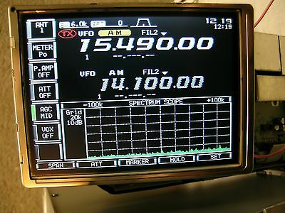 DISPLAY per ICOM IC 756 pro3