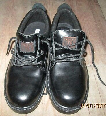 Men's Arco Trojan Lites Black Lace Up Safety Shoe Size 9 - Brand New In Box