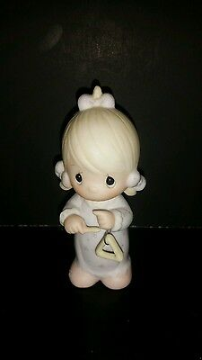 Precious Moments Figurine There is a Song in my Heart 1984 Samuel J Butcher
