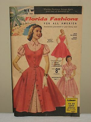 Florida Fashions for All America 1957 Catalog 40 Pages Vintage Ladies Womens