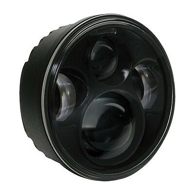 Speaker LED 5 3/4 Black Insert 46 ECE Headlamp Headlight